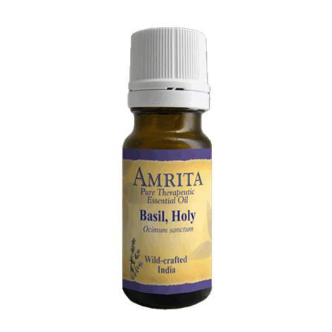Amrita Aromatherapy Basil Holy Organic Essential Oil,1000ml,Bottle,Each,EO3091