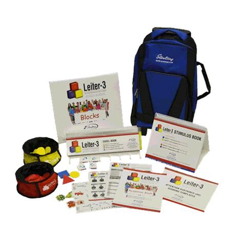 Stoelting Leitter-3 International Performance Scale Kit,Leitter-3 Kit,Each,34100