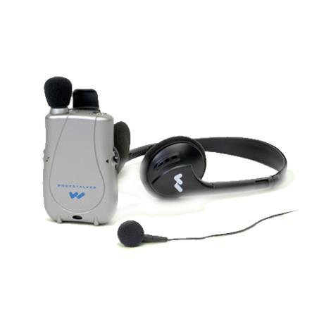 William Sound Pocketalker Ultra Personal Sound Amplifier With Earbud And Headphone,Each,PKT D1 EH