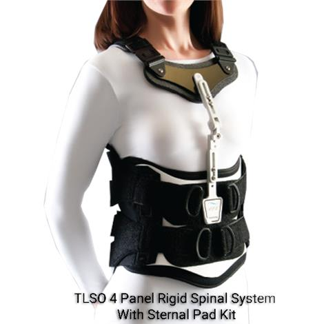 Optec Edge Sl Tlso 4 Panel Rigid Spinal System With Sternal Pad Kit