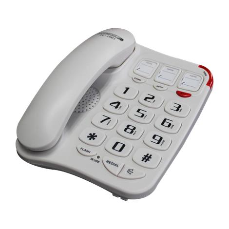 Future Call Picture Phone with Two Way Speakerphone,Black,Each,FC-1001