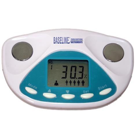 """Baseline Handheld Palm Size Body Fat Analyzer,4"""" x 0.25"""" x 2.25"""",Each,#12-1140"""