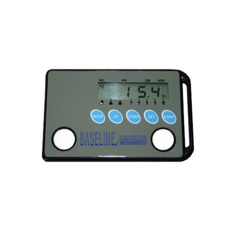 "Baseline Credit Card Style Body Fat Analyzer,4"" x 0.25"" x 2.25"",Each,#12-1141"