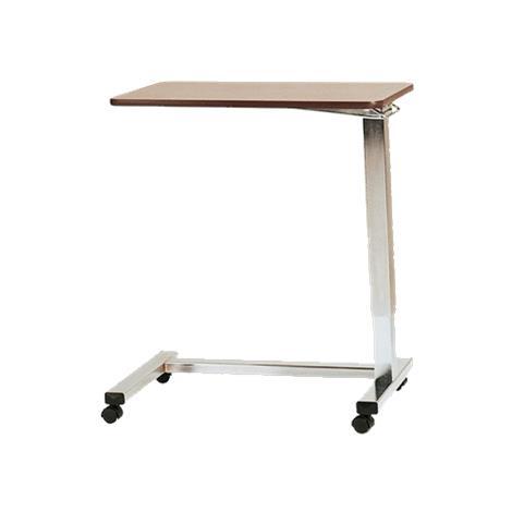 Medline U-Base Overbed Table with Gas Cylinder,Overbed Table With vanity,Each,MDR104770V