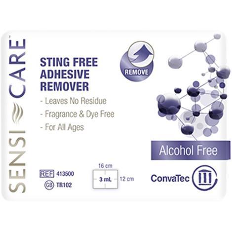 ConvaTec Sensi-Care Sting Free Adhesive Remover Wipe,Non ic Wipes,30/Pack,20Pk/case,413500