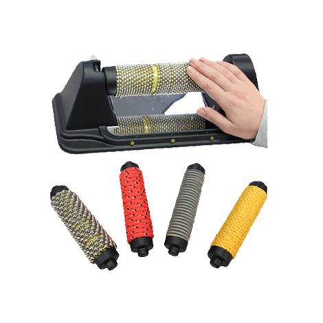 Interchangeable Textured Rollers Set For Sensory Awareness,15L x 4-1/2H x 6-1/2W,Each,694