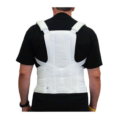 ITA-MED Men Thoracic LumboSacral Orthosis Posture Corrector,Large,Each,TLSO-250(M) ITAI TLSO-250(M) L