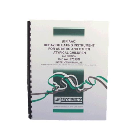 Stoelting Behavior Rating Instrument Kit For Autsitc And Atypical Children,Second Edition,Each,37030