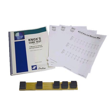 Stoelting Knox Cube Test-Revised Kit,KCT-R Kit,Each,33922