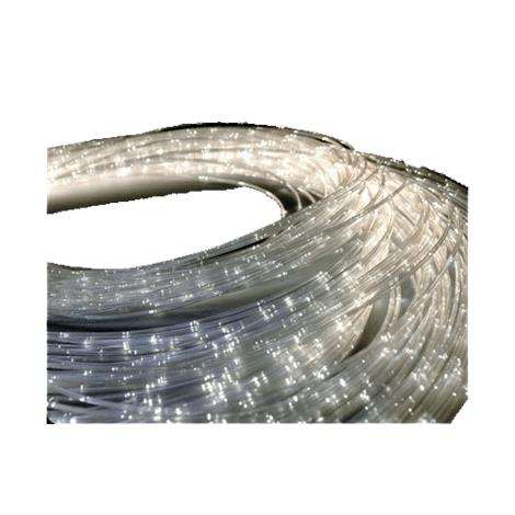"Universal Fiber Optic Sensory Side Sparkle Side Glow Harness,100 Tails at 118"",Each,SEN-100-3-CL"