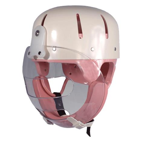 Danmar Hard Shell Helmet with Faceguard,0,Each,9822