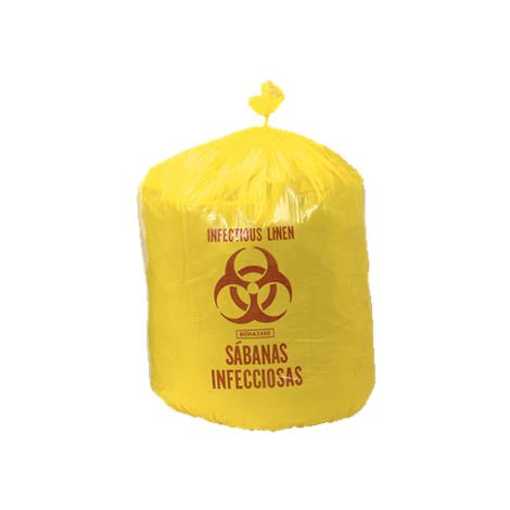 """Colonial Low Density Infectious Waste Hamper Liners,31"""" x 43"""",100/Case,HXY-43"""