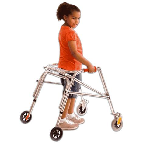 Kaye PostureRest Four Wheel Walker With Seat And Front Swivel Wheel For Small Children,0,Each,W1/2BHS