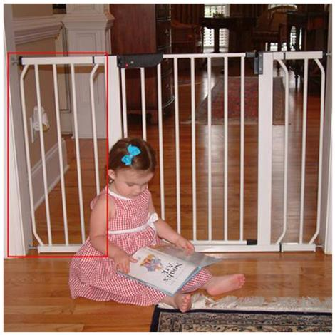 Cardinal Gates AutoLock Pressure Safety Gate 21418