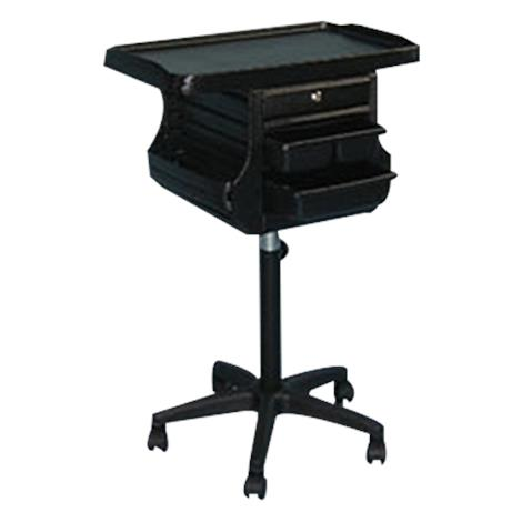 """Brandt Mobile Cart with Tray Holder,24""""W X 16""""D X 40""""H,Each,39820"""