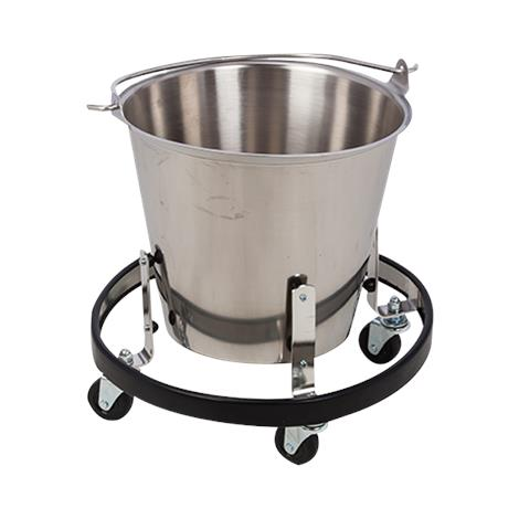 Brandt Stainless Steel Kick Bucket,13 Quarts,Each,36201