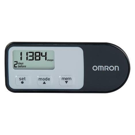 "Omron Tri-Axis Pedometer,1-1/4"" H x 3"" W x 1/4"" D,3VDC,Each,HJ-321"