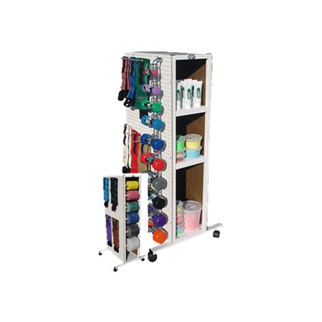 Elginex Elgin StorAll Deluxe Combo Storage Rack System,Deluxe Rack System,Each,004-WCD58