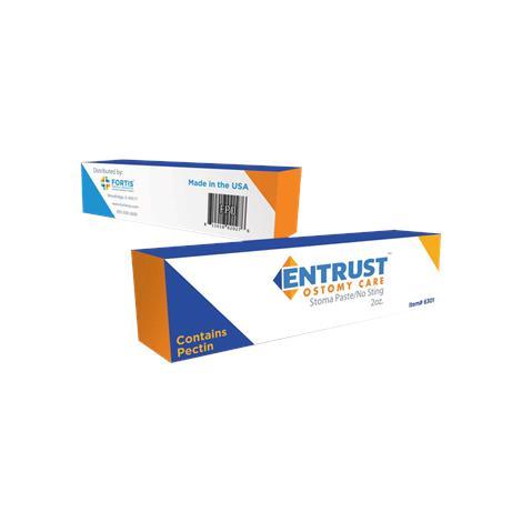 Fortis Entrust Ostomy Pectin-Based Paste,2oz,Pectin,Each,6300