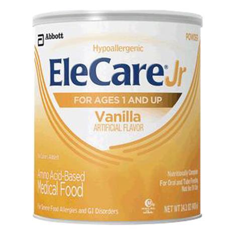 Abbott EleCare Jr Vanilla Amino Acid-Based Medical Food,14.1oz Can,6/Pack,56585