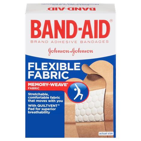 Johnson & Johnson Band-Aid Flexible Fabric Adhesive Bandage,Flexible Fabric Adhesive Bandage,30/Pack,4431