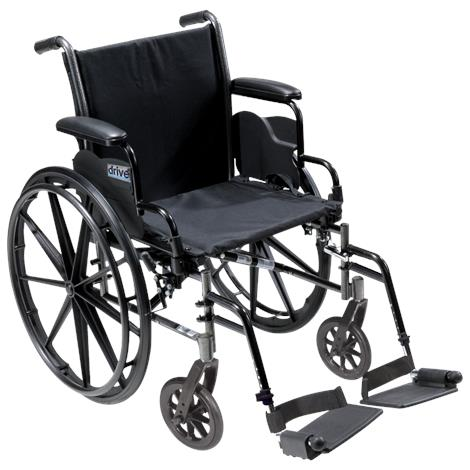Drive Cruiser X4 Lightweight Dual-Axle Wheelchair,0,Each,0