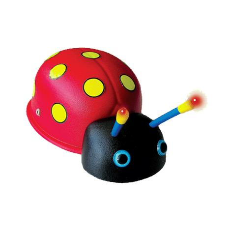 Lady Bug Assistive Switch Toy,Switch with Lights,Music and Vibration,Each,729 ENA729