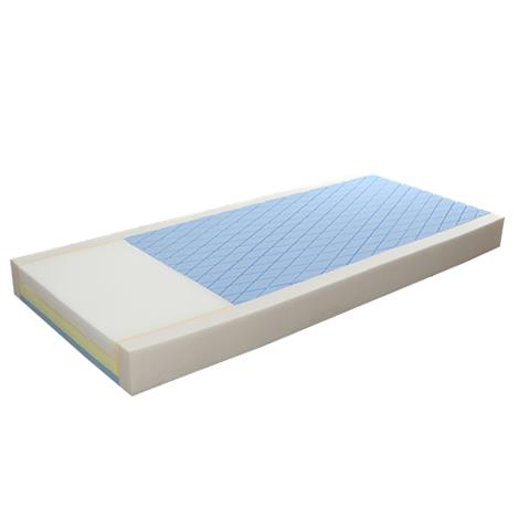 "Proactive Protekt 500 Gel Infused Foam Pressure Redistribution Mattress,Protekt 500,36""W x 76""L x 6""H,Each,81051"