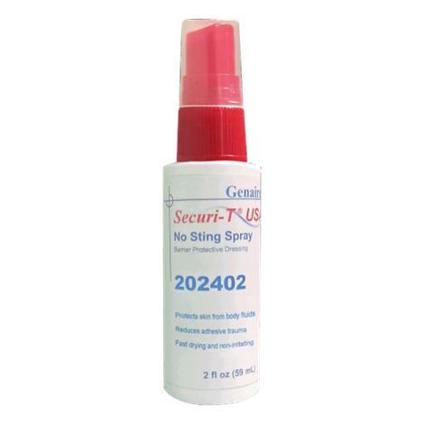 Genairex Securi-T No Sting Ostomy Spray,2oz,120/Case,202402
