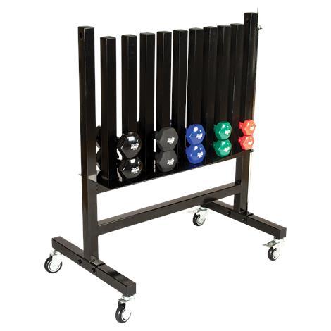 "Body Sport Dumbbell Rack,40"" x 24"" x 42"",Each,BDSDBRACK"
