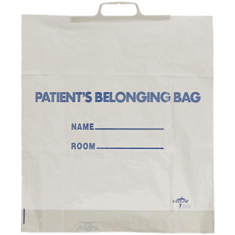 Medline Rigid Handle Patient Belongings Bag,18 x 20 x 4,12/Pack,NON026320H