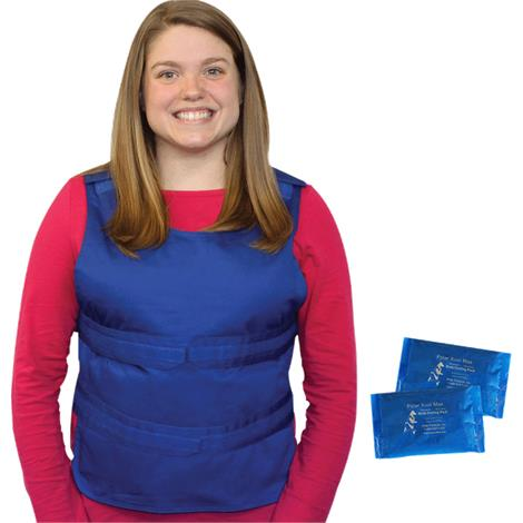 Polar Kool Max Body Cooling Poncho Vest with Cooling Packs,0,Each,KMV