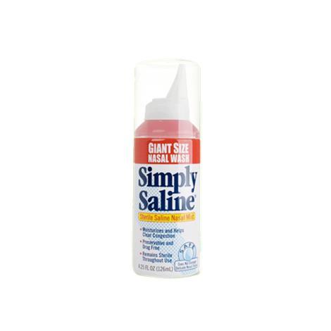 Church & Dwight Simply Saline Sterile Nasal Mist,1.5oz Spray,24/Case,2915