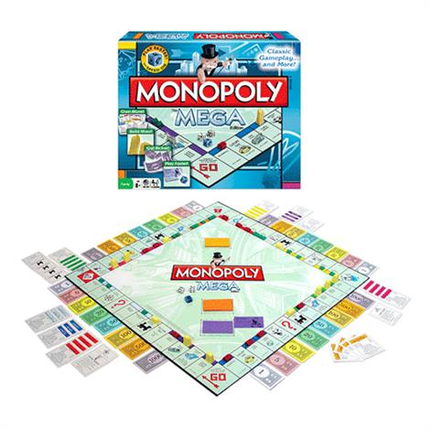 Winning Moves Monopoly The Mega Edition,Monopoly The Mega Edition,Each,1104WM