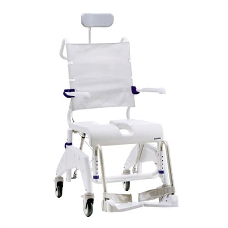Clarke Aquatec Ocean Dual Tilt-In-Space Shower Commode Chair with Reclining Back,0,Each,A1525707