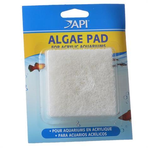 API Doc Wellfishs Hand Held Algae Pad for Acrylic Aquariums,Algae Pad - Acrylic,Each,44