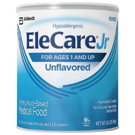 Abbott Elecare Jr Amino Acid-Based Medical Food,Uned powder,14.1oz (400-g),Can,Each,55253