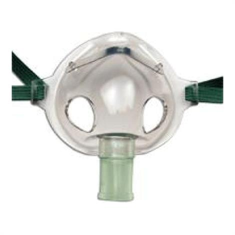 CareFusion AirLife Aerosol Under-the-Chin Style Adult Mask with Elastic Band,Disposable Adult Mask,Each,1206
