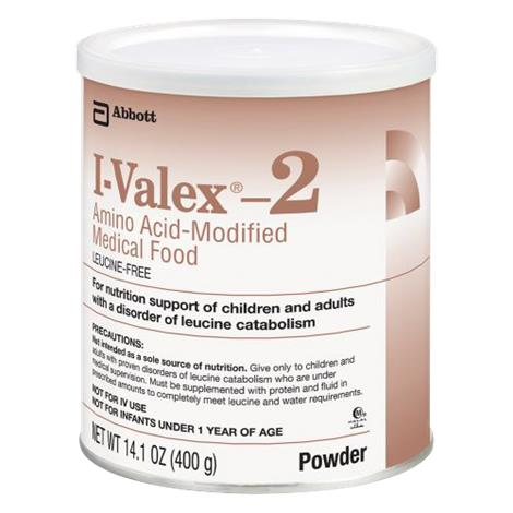 Abbott I-Valex 2 Amino Acid Modified Medical Food,14.1oz (400gm),Unflavored,Powder Institutional Can,6/Case,51138