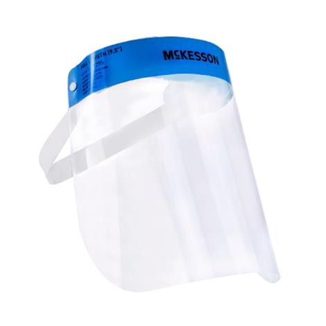 "Image of McKesson Anti-fog Face Shield,Full Length,9.5"",100/Case,16-1295"