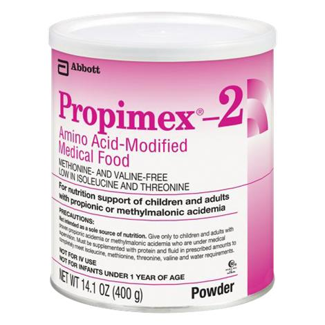 Abbott Propimex 2 Amino Acid Modified Medical Food,Unflavored Powder,14.1oz (400gm) Can,6/Case,51134