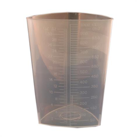 McKesson Triangular Graduated Container Without Lid,32 oz. / 1000 cc,Each,16-9521 47362900