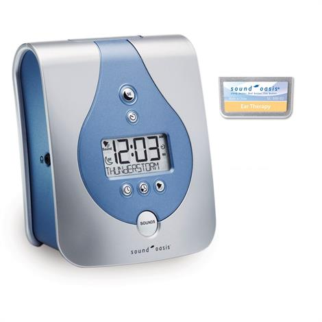 Sound Oasis Sleep Sound Therapy System with Tinnitus Therapy Sound Card,Sleep Sound Therapy System,Each,S-650-H