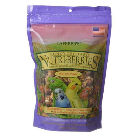 Lafeber Sunny Orchard Nutri-Berries Parakeet,Cockatiel & Conure Food,10 oz,Each,82840