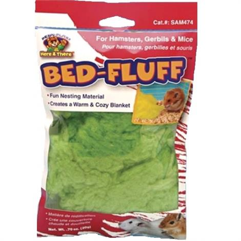 Penn Plax Bed-Fluff for Hamsters,Gerbils & Mice,0.7 oz,Each,SAM474