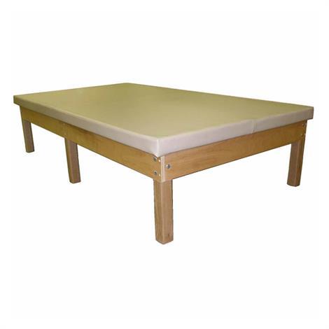 Bailey Bariatric Wood Mat Table