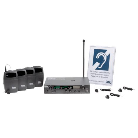 Listen 3 Channel FM Value Package,3-Channel FM Value Package,Each,LP-3CV-072