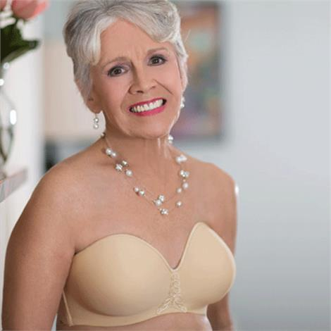 ABC Seamless Strapless Mastectomy Bra Style 112,0,Each,112