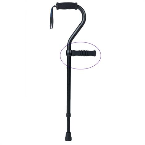 Complete Medical Stand-Up Easy Lifting Cane Handle,Weight capacity: 250 lbs,Each,1555