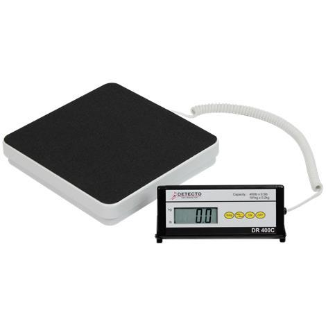 Detecto Portable Visiting Nurse Scale,Capacity: 400 x 0.5 lb / 180 x 0.2 kg,Each,DR400C